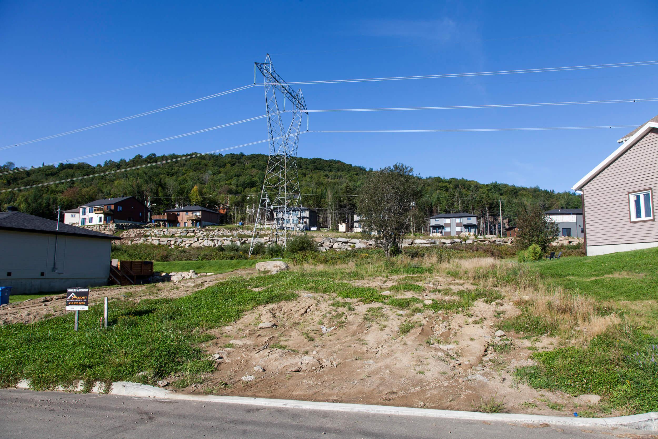Terrain f audet construction construction neuve for Construction terrain
